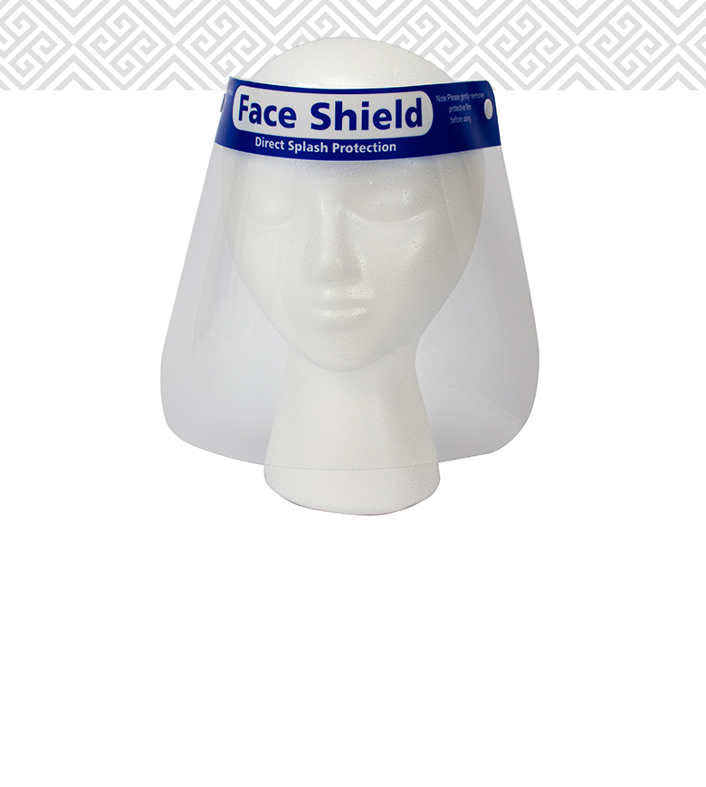 Protective Anti-Fog Face Shield, Clear <br>Item #19020