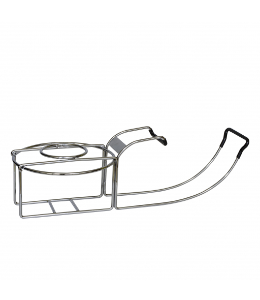 Wine By Your Side Chrome Plated Wine Holder, 1/EA, 20024