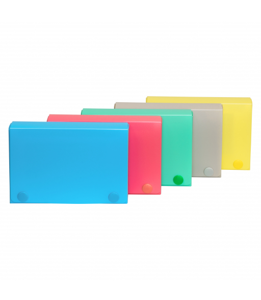 3 x 5 Index Card Case, Assorted, 1/EA, 58335
