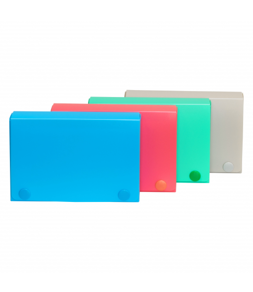 3 x 5 Index Card Case, Assorted, 4/PK, 58435