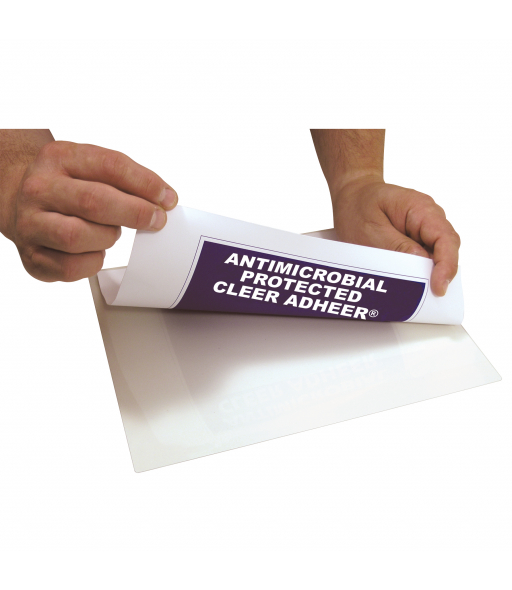 Cleer Adheer Laminating Film with Antimicrobial Protection, 50/BX, 65009