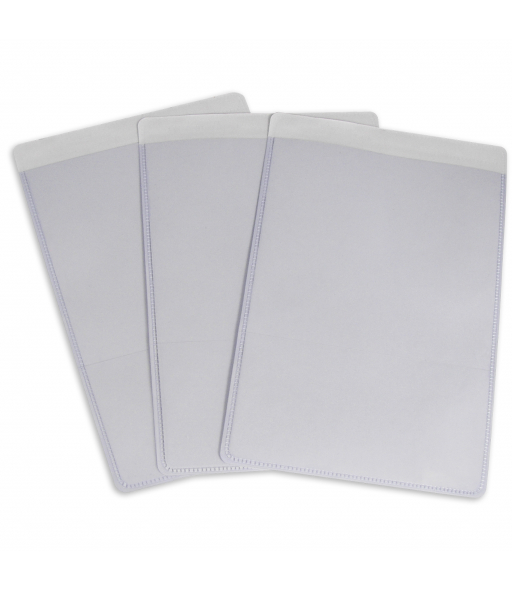 Self-adhesive shop ticket holders, 5 x 8, 50/BX, 5BX/CT
