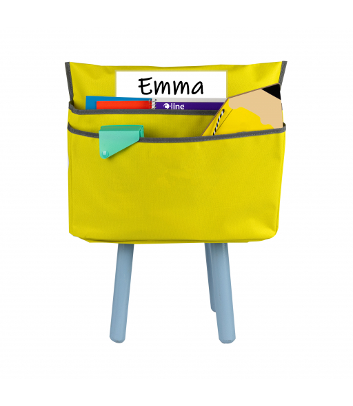 Small Chair Cubbie 12', Sunny Yellow, 1/EA, +20EA/CT