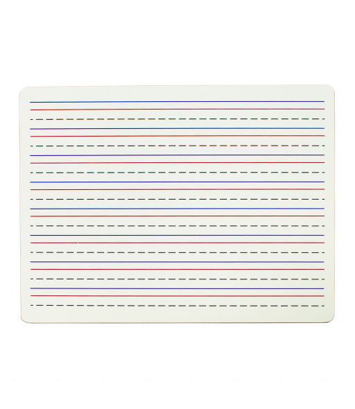 Two-Sided Dry Erase Lapboard, Lined on One Side, 1/EA, +12EA/BX, 4BX/CT
