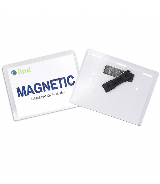 Magnetic Style Name Badge Kit, 4 x 3, 20/BX, 92943