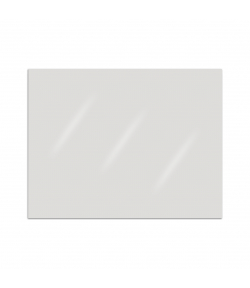 Plastic Face Shield Material, 8-1/2' X 11', Clear, Unpunched, 100/BX, +5BX/CTN