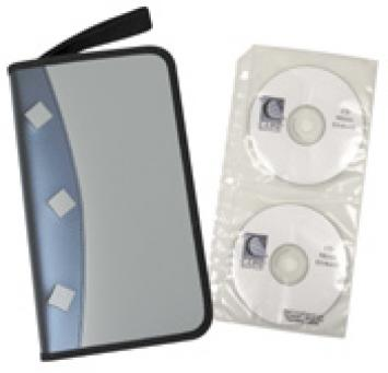 Refillable CD/DVD Organizer Gets CDs in Order